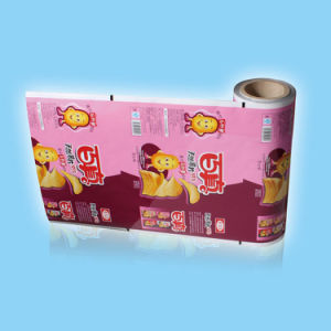 Puffed Chips Roll Film for Food Packing pictures & photos
