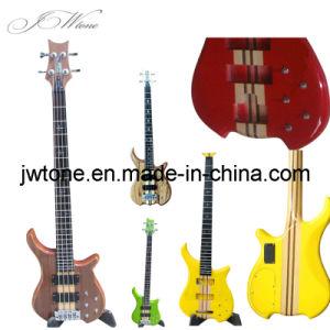 Quality Custom Neck Through Body Bass Guitar pictures & photos
