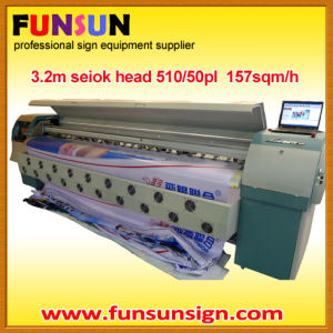 Infiniti 3.2m Canvas Printing Machine (8 Seiko head, fast speed to 157sqm/h) pictures & photos