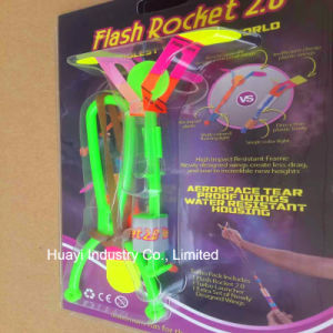 Flash Rocket LED Light up Night Flyer Toy Customized OEM pictures & photos