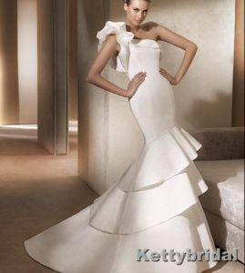 Wedding Gown&Bridal Dress&Wedding Dress (KB1074)