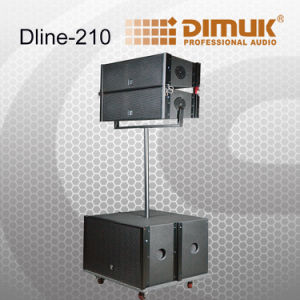 """2X10 Active""""Line Array System /Powered Line Array Speaker/Powerful Line Array System (Dline-210)"""