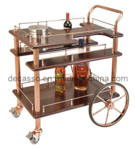 American Style Wine Trolley (DE26) pictures & photos