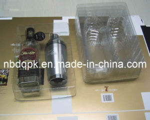 Combined Liquor Packaging Thermoformed Tray for Wine Packaging pictures & photos