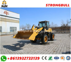 Front End Loader 1.8 Ton Road Construction Wheel Loader Zl30 pictures & photos