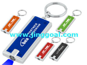 Mini Promotion Flashlight LED Keychain pictures & photos