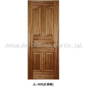 Natural Veneered Moulded Door Skin (JL-005)