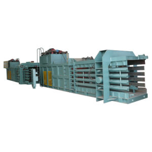 Hydraulic Semi Automatic Waste Paper Baling Machine pictures & photos