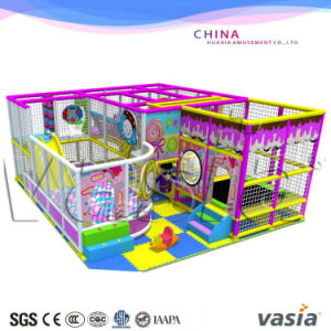 Candy Themes Indoor Gym for Kids Indoor Play Area pictures & photos