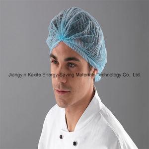 Mob Cap Non-Woven Clip Cap Disposable Supply Medical Manufacturer Kxt-Mc16 pictures & photos