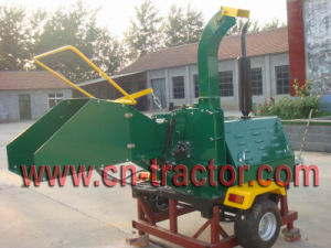 Wood Chipper With 40HP Diesel Engine and Hydraulic Motor pictures & photos