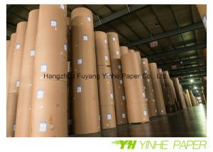 Top Quality Coated White Duplex Board Paper with Grey Back pictures & photos