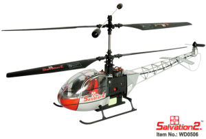 3CH RC Helicopter-Lama (WD0506)