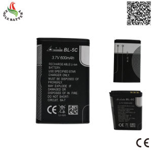 3.7V 600mAh Mobile Phone Rechargeable Li-ion Battery for Mobile Bl-5c