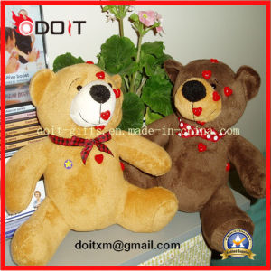 Kids Soft Stuffed Tapping Tappy Bear Eft Educational Toy Bear pictures & photos