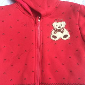 Fashion Red Girl Hoodies Clothes in Kids Sport Coat Sq-6711 pictures & photos