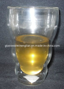 High Borosilicate Double Wall Beer Glasses (PJB-06) pictures & photos