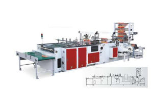 Rope-Threading & Patching Bag Making Machine pictures & photos