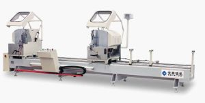 Digital Display Double-Head Precision Cutting Saw for Aluminum Window and Door pictures & photos