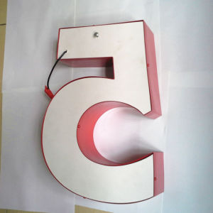 3D Outdoor LED Aluminum Letter pictures & photos