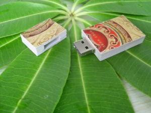 Colorful Paper USB Flash Drive, USB 2.0