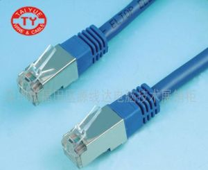 FTP CAT6 Jump Cable in 7*0.20mm CCA Lszh pictures & photos