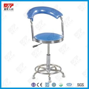High Quality Lifting Lab Stool with Backrest