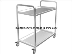 Double-Layer Food Handcart