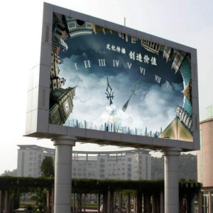Advertisement Outdoor Full Color LED Display pictures & photos
