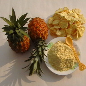 100% Pure Natural Nutritional Freeze Dried Pineapple Extract Powder for Food Additives