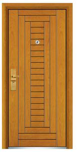 Steel Wood Exterior Door (FXGM-C315) pictures & photos