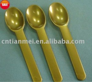 Gloden PP Plastic Ice Cream Spoon pictures & photos
