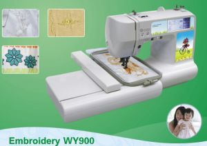 Home Use Embroidery and Sewing Machine for Small Shop pictures & photos