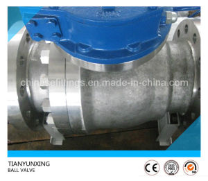 Flanged End API 6D Forging Carbon Steel Ball Valve pictures & photos