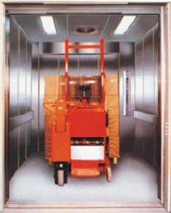 Machine Room Cargo Elevator (BVH VVVF)
