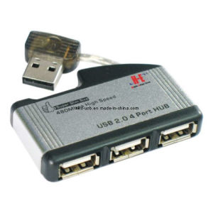USB2.0 4port Hub/The Thumb Shape Hub (HE-420BG)