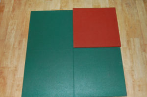 En 1177 Certifictae Safety Rubber Floor for Palyground (MR-18)