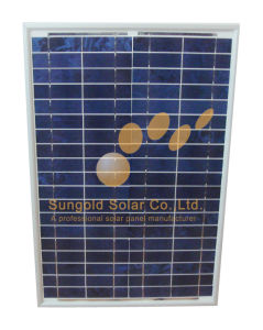 Poly Crystalline 40W 18V Solar Panel pictures & photos