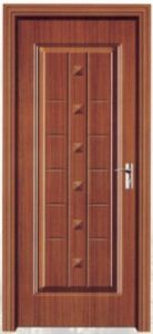 Burglar Proof Steel Wooden Door (pH-6620) pictures & photos