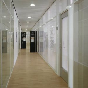 Clear Laminated Composite Fire Resistant Glass Door pictures & photos