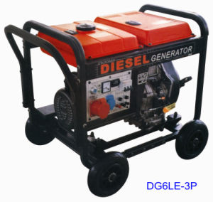 Small Portable Diesel Generator Set with Ce pictures & photos