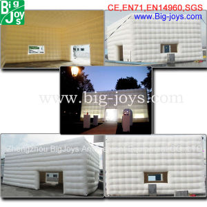 Cheap Clear Inflatable Camping Tent--Inflatable Cube Tent (BJ-tt02) pictures & photos