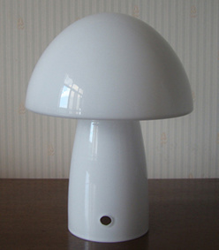 Custom Lamp Opal White Shiny Glass Lamp Shade 15471