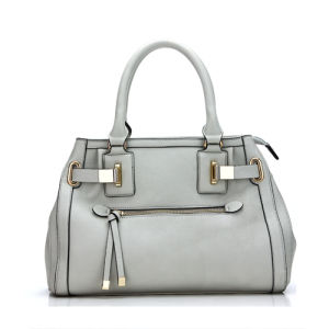 Simplicity Totes Grey Stylish Fashion Lady Hand Bag (MBNO036099) pictures & photos