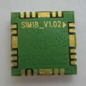 Simcom Sirf Chipset Small Size Hot Sale GPS Modules SIM18 SMT Package Single Working