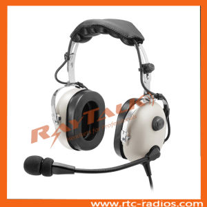 Aircraft Aviation Noise Cancelling Headphones with Electret Mic pictures & photos