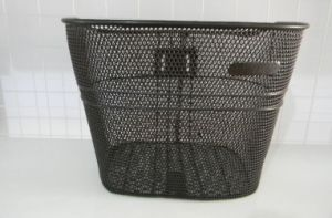 Black Steel Basket