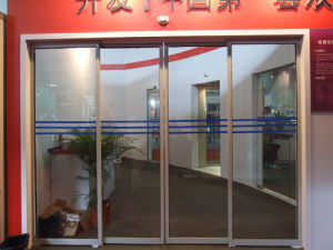 Over20years development on Updated Generation Automatic Sliding Entrance Door Opener Commercial with UPS Anny1503 pictures & photos