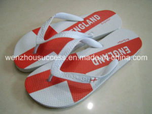 New Design Beach Flip Flops Fashion Men Rubber Flip Flops pictures & photos