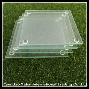 4mm Clear Tempered Galss Coaster pictures & photos